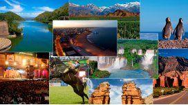 Los destinos más elegidos por los turistas en enero