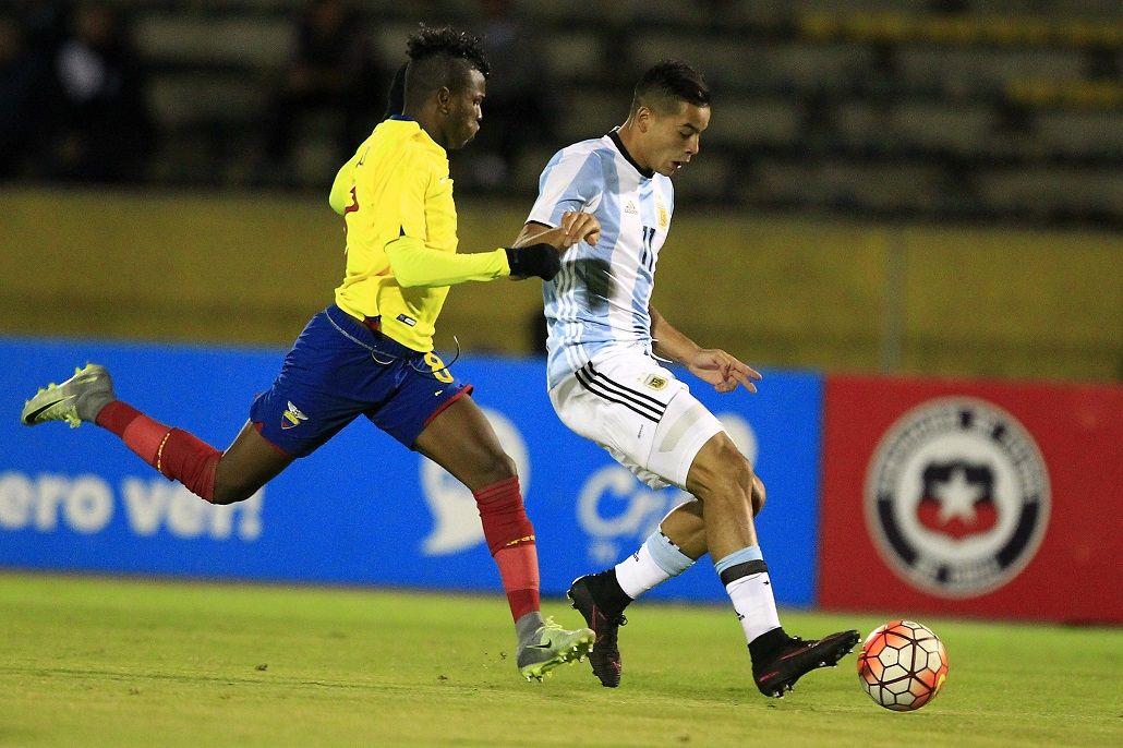 Ecuador y Argentina juegan en el hexagonal Sub 20