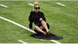 El descuido hot de Lady Gaga en la previa del Súper Bowl