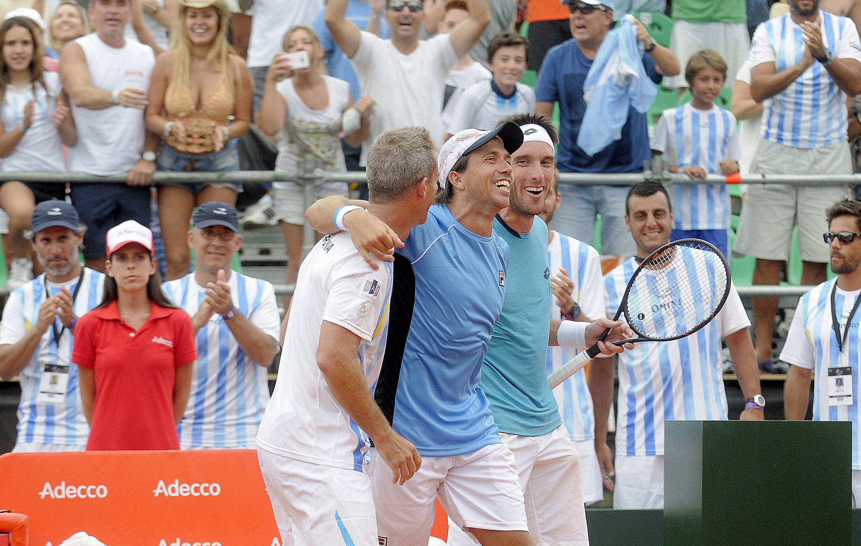 Carlos Berlocq y Leo Mayer ganaron el dobles ante Italia