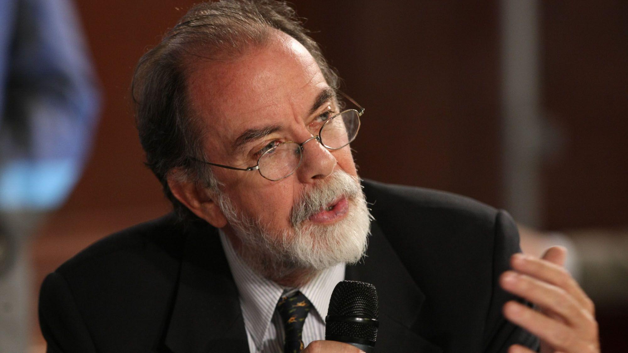 Javier González Fraga, presidente del Banco Nación<br>