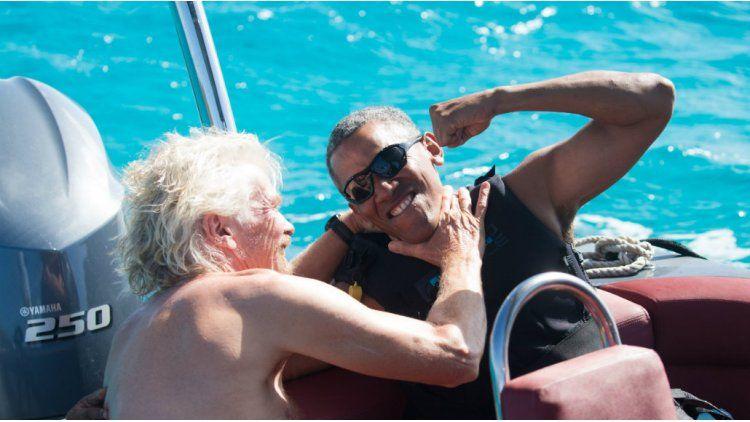 Un rato de juegos con Richard Branson