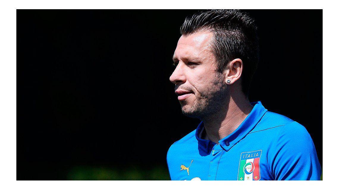 Antonio Cassano será niñera si se retira del fútbol