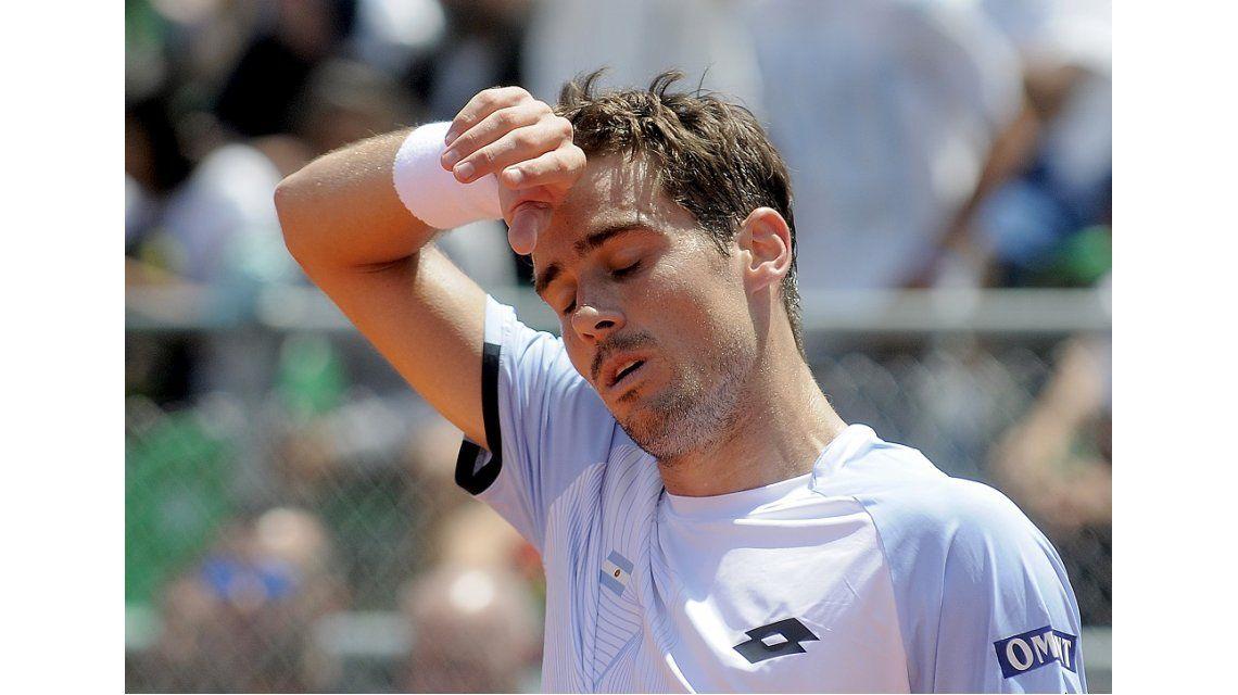 Pella perdió el quinto punto de Argentina en la Copa Davis