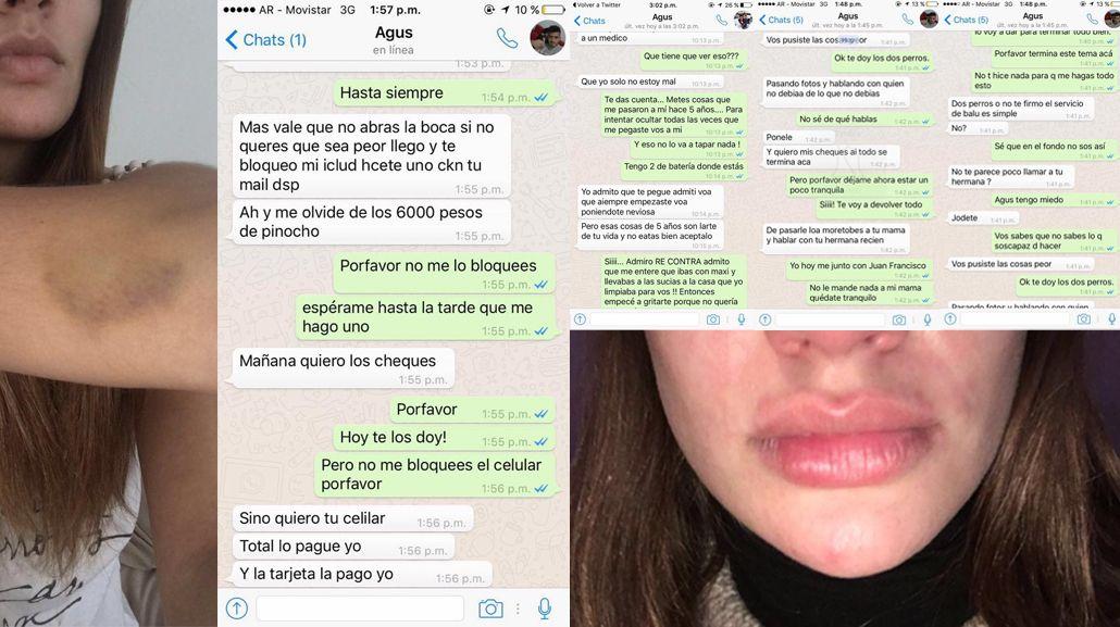 Agustín Rossi, el nuevo arquero de Boca, fue acusado de violencia de género
