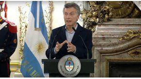 Macri criticó la importaciones de gas durante el kirchnerismo