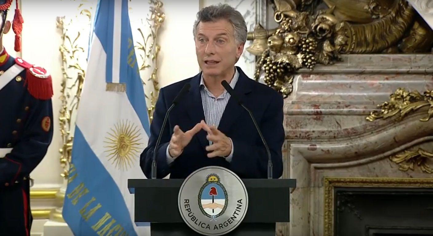 Macri criticó la importaciones de gas durante el kirchnerismo<br>