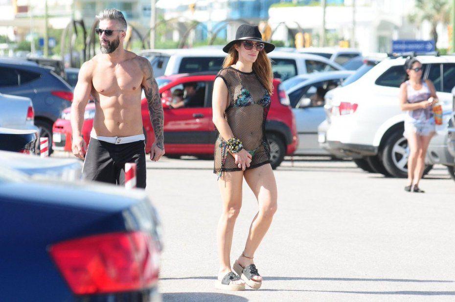 Miriam Lanzoni y su novio millonario