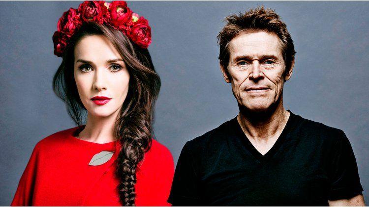 Natalia Oreiro hará una película con Willem Dafoe