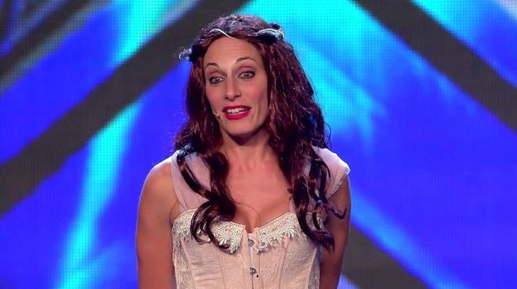 Solange Freyre deslumbra en Got Talent España