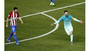 Lionel Messi marcó un golazo ante el Atlético de Simeone