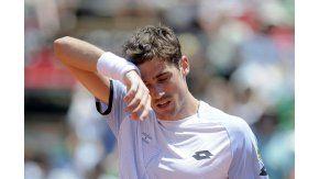 La desilusión del tenista bahiense
