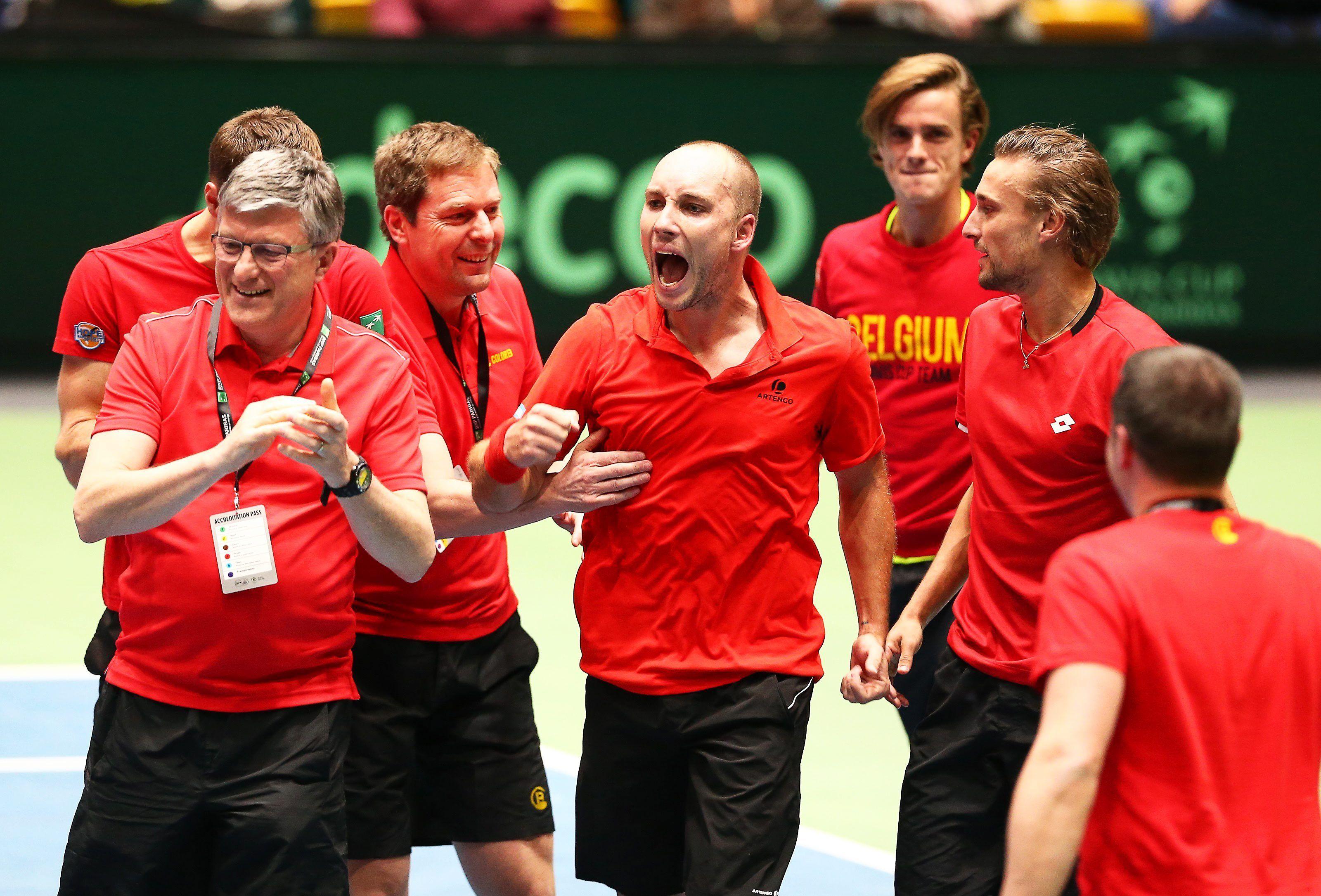 El N°1 belga consumó el gran triunfo de su equipo