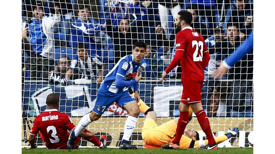 El Sevilla perdió puntos en su visita al Espanyol