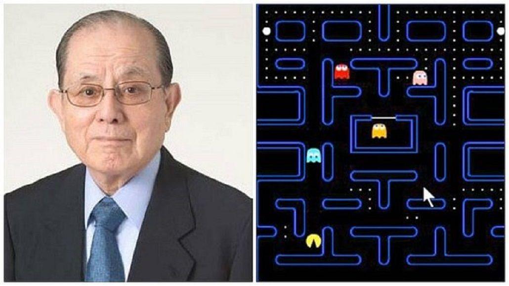 El primer Pacman lanzado por Namco
