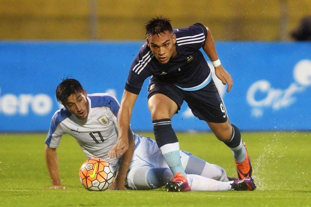 Argentina y Uruguay juegan en el hexagonal Sub 20