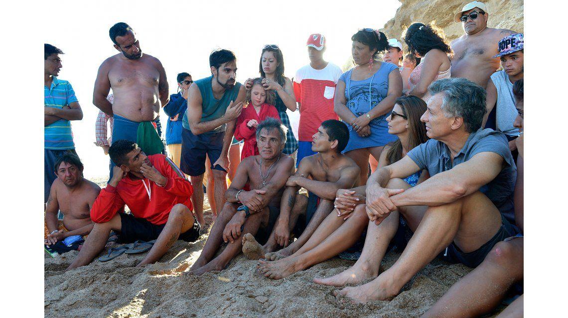 Así pasa Macri sus días de descanso con su familia en la Costa