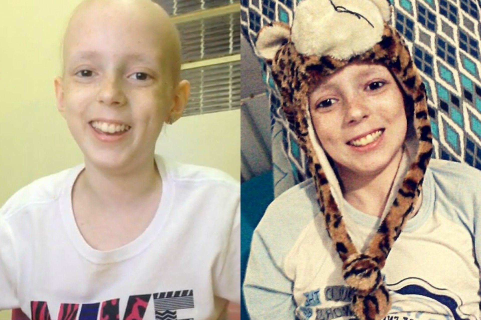 La alegría de una niña de 12 años que logró curarse de cáncer