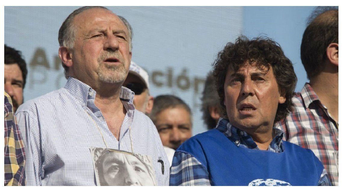 Yasky y Micheli acordaron la fusión o unificación de las dos CTA en 2018