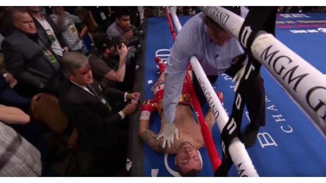 El mexicano Mikey García conquistó el título mundial de peso ligero