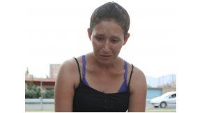 Mónica Dominguez, madre de bebé que murió atragantado por una uva