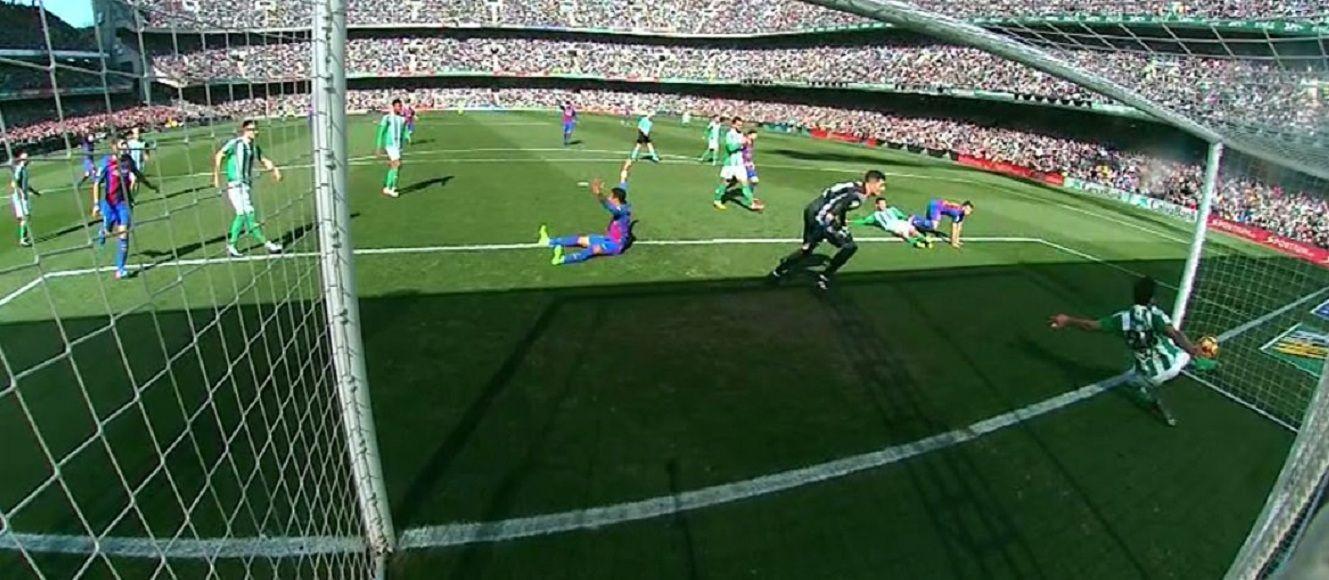 No quedan dudas: era gol del Barcelona ante Betis