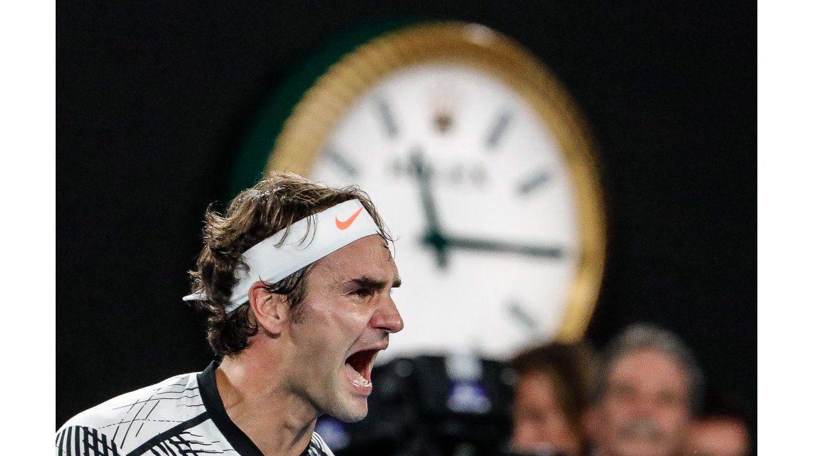 La furia de Federer tras ser campeón en Australia