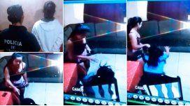Los actos de violencia de la niñera quedaron registrados por las cámaras