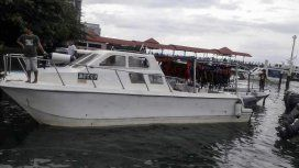 Rescataron a 27 personas de un barco en Malasia