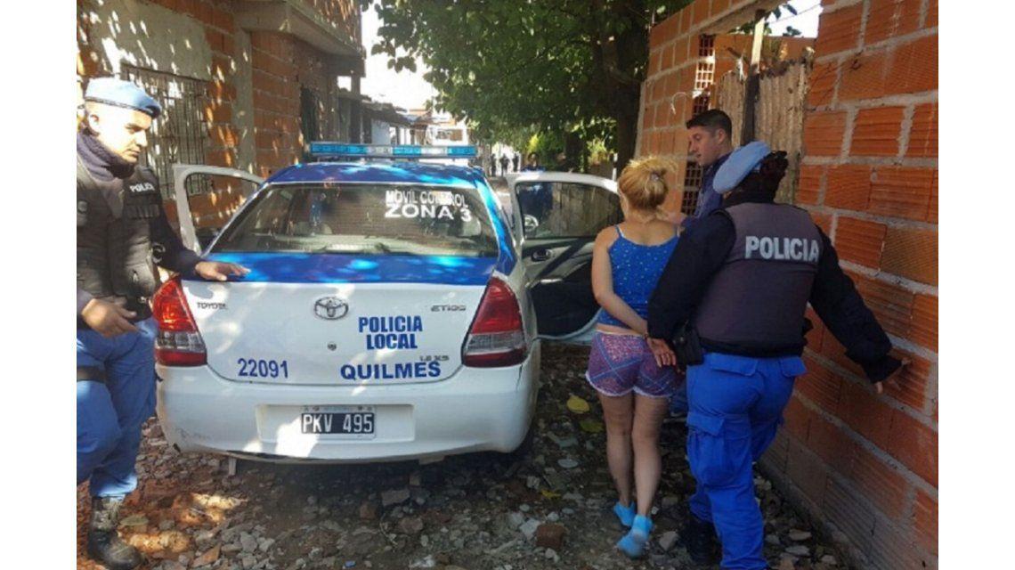 Una oficial de la Policía Local de Quilmes fue detenida por narco.