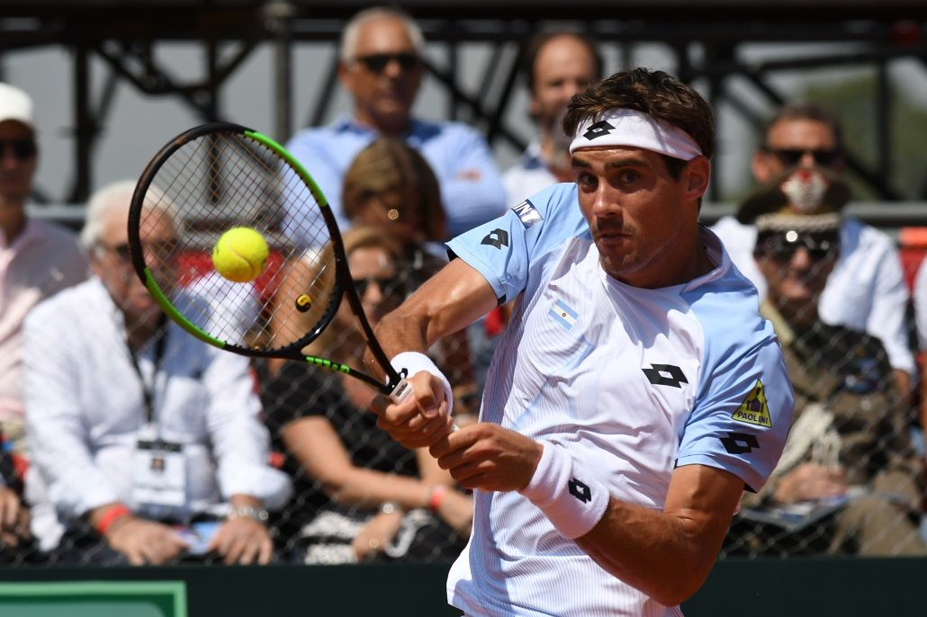 Copa Davis: Guido Pella perdió ante Paolo Lorenzi