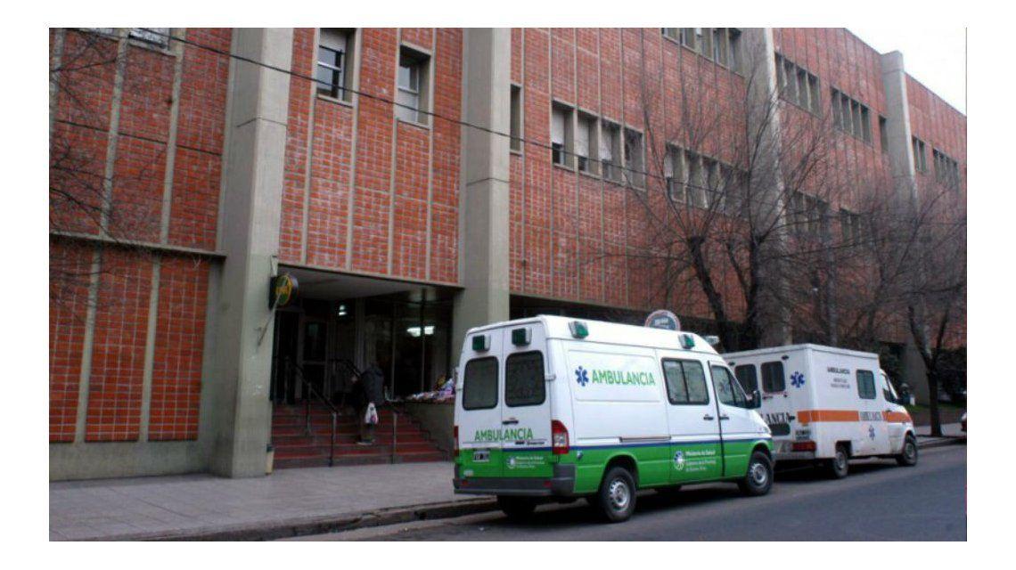 La menor fue trasladada al Hospital Materno Infantil de Mar del Plata