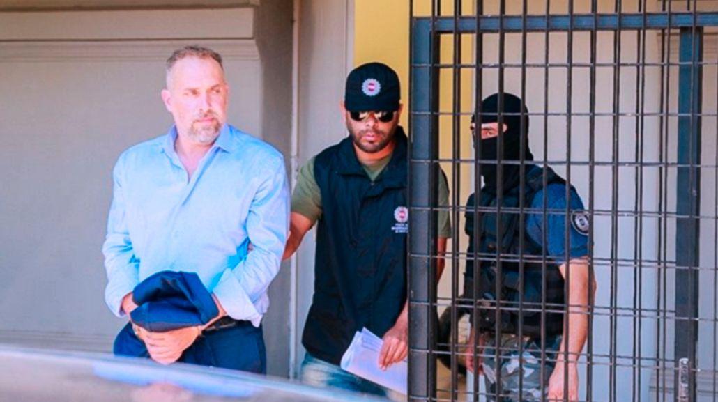 Marcos Cella que quedó detenido acusado de haber participado en el crimen de Lorena Ojeda