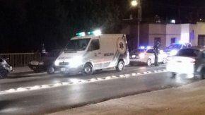 Ambulancias intervienen tras la violenta pelea