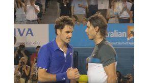 Federer y Nadal en el Abierto de Australia 2009
