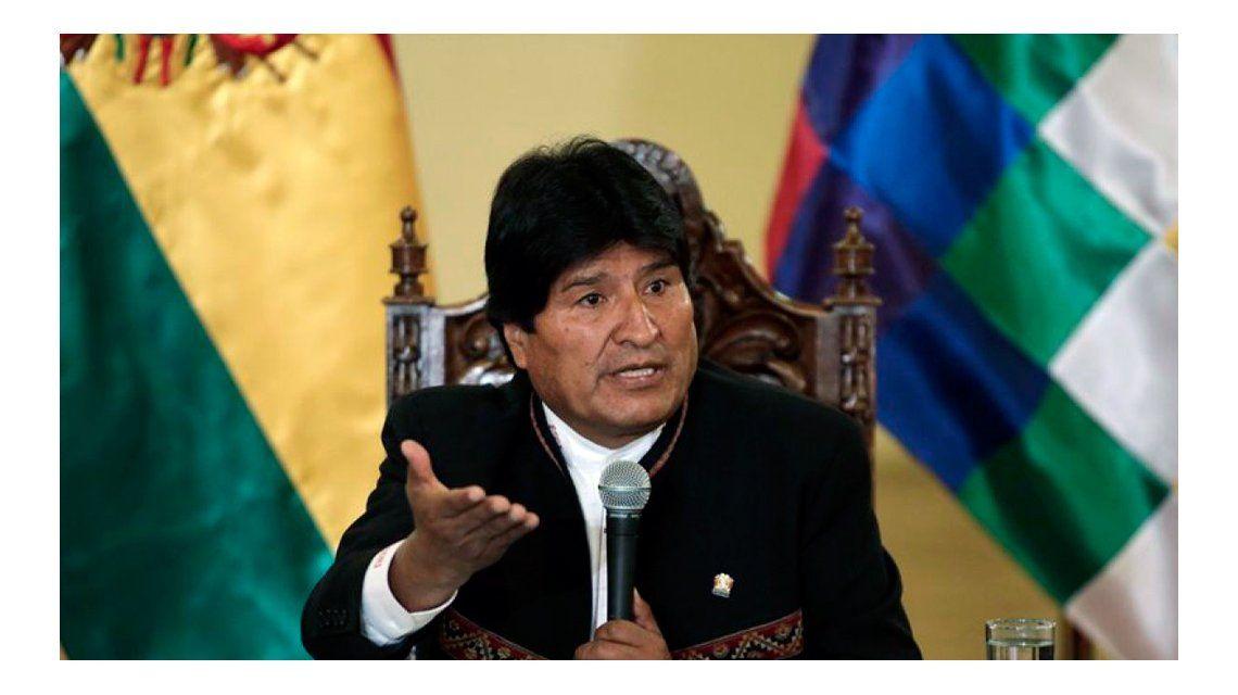 Evo Morales inviará una comitiva oficial al país