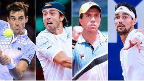 Copa Davis: Pella-Lorenzi y Berlocq-Fognini abren el viernes