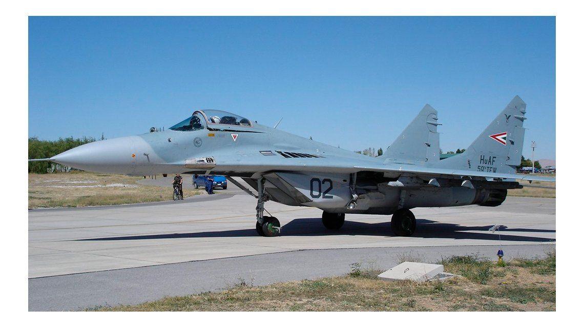 Argentina quiere comprar aviones de guerra rusos