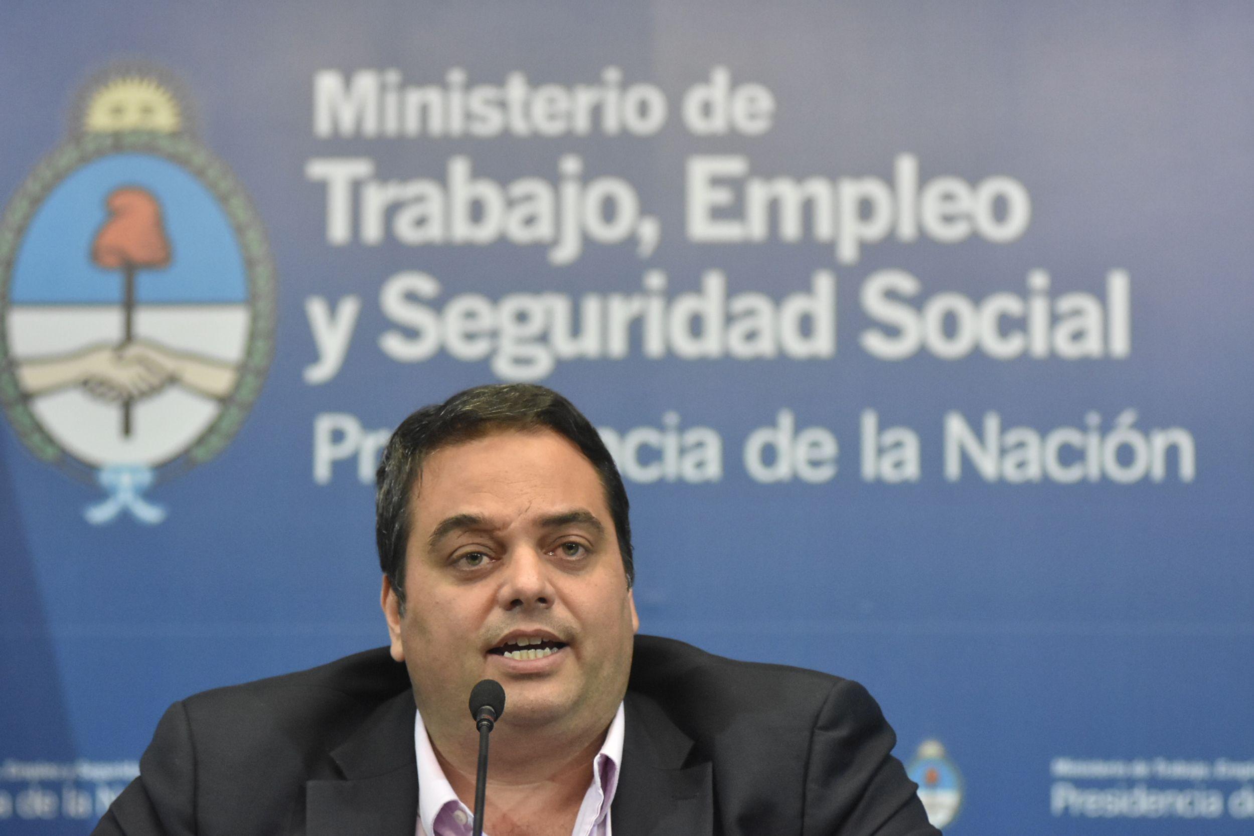 <p> Jorge Triaca, Ministerio de Trabajo de la Nación</p>