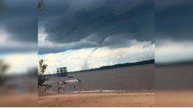 Impresionante video de un tornado