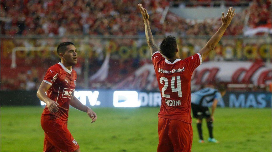 Independiente descartó vender a Rigoni