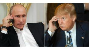 Vladimir Putin y Donald Trump hablan por teléfono