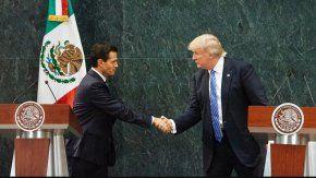Enrique Peña Nieto y Donald Trump en una reunión mantenida en México