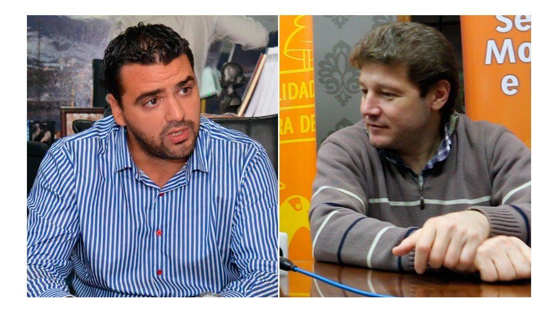 Walter Vuoto y Gustavo Melella