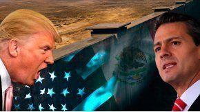 Trump presiona a México por el muro