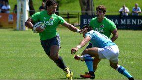 El uruguayo Nicolás Freitas, en la práctica con los Jaguares. Foto: Villarpress