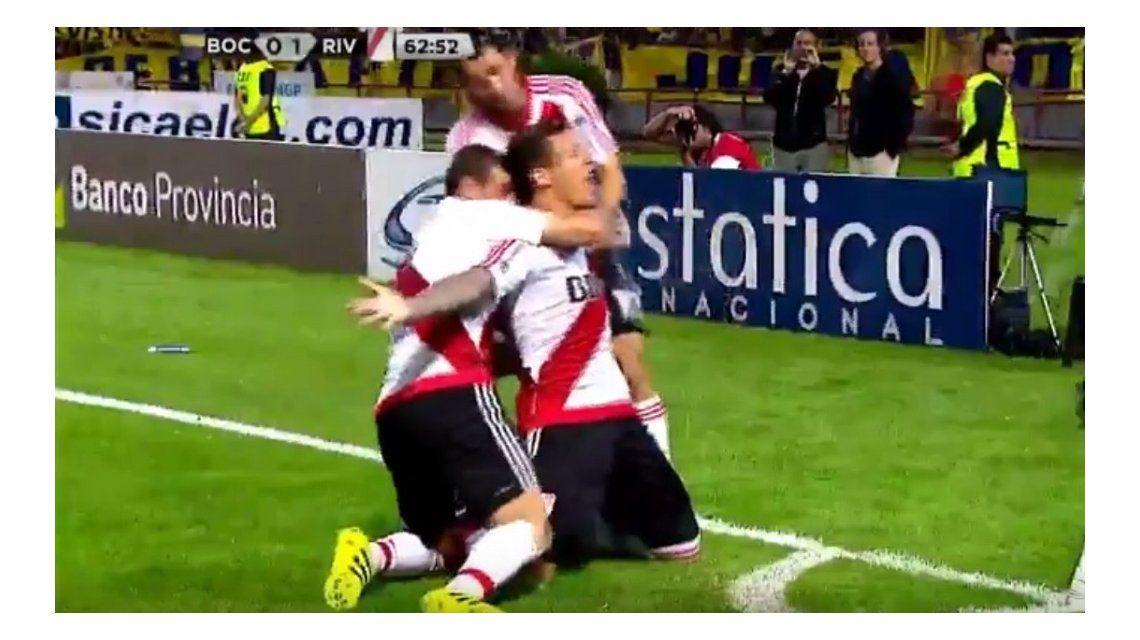 El gol de Driussi para River 1 Boca 0