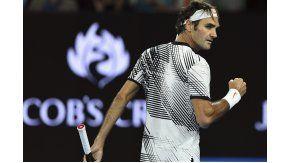 El suizo Roger Federer a su Stan Wawrinka en el Abierto de Australia