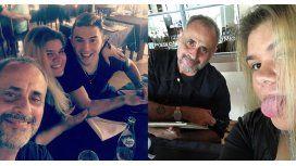 La primera foto de Morena Rial junto a Jorge y su novio