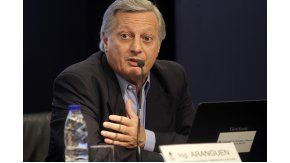 Juan José Aranguren, ministro de Energía y Minería